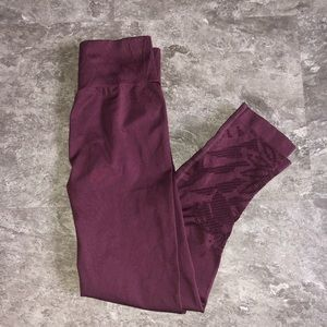 """AERIE """"Chill. Play. Move."""" High-Waisted Leggings"""